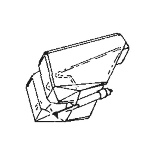 National/Technics EPS-202 Stylus for EPC-P202 : Brand:JICO, Info:Aftermarket Stylus JICO Super Analog Stylus (neo SAS) SAS TIP, Stylus:SAS on Sapphire