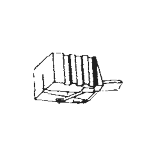 Hitachi DS-ST-25 Stylus : Brand:Tonar, Info:Aftermarket Stylus, Stylus:Spherical