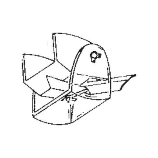 N-14 / NPS 4 Stylus for Shure SPS4 : Brand:Tonar, Info:Aftermarket Stylus  (Blue), Stylus:Hyper elliptical