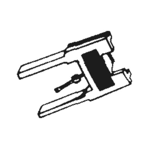 National/Technics EPS-46 STSD Stylus for EPC-460C : Brand:Tonar, Info:Aftermarket Stylus, Stylus:Spherical