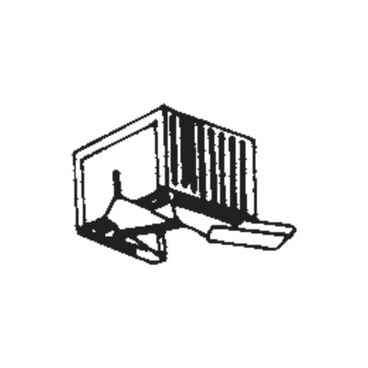 Teleton MST-5 Stylus : Brand:Tonar, Info:Aftermarket Stylus, Stylus:Spherical