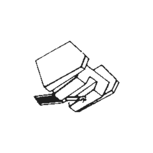Piezo YM-118 Stylus : Brand:Tonar, Info:Aftermarket Stylus, Stylus:Spherical