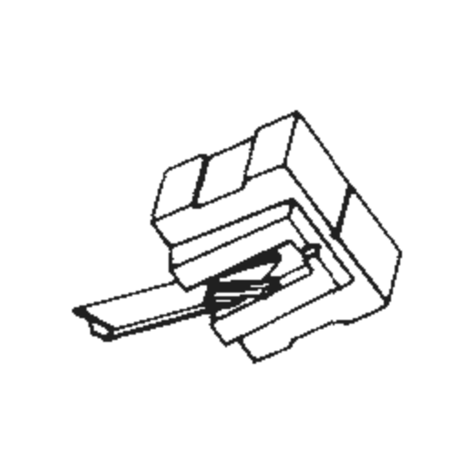 Pioneer PN-14 Stylus : Brand:Tonar, Info:Aftermarket Stylus, Stylus:Spherical