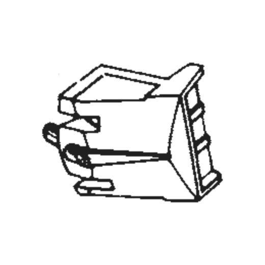 Kenwood N-44 Stylus : Brand:Tonar, Info:Aftermarket Stylus, Stylus:Line-Contact