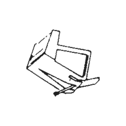 Sharp STY-705 Stylus : Brand:Tonar, Info:Aftermarket Stylus, Stylus:Spherical