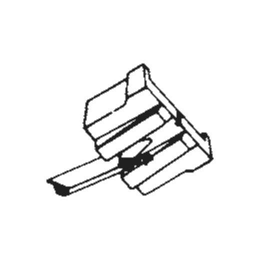 Jelco MC-12 Stylus : Brand:Tonar, Info:Aftermarket Stylus, Stylus:Spherical