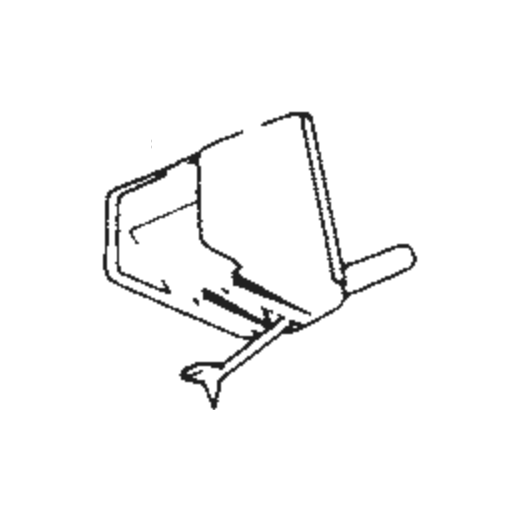 Sharp STY-102 Stylus : Brand:Tonar, Info:Aftermarket Stylus, Stylus:Spherical