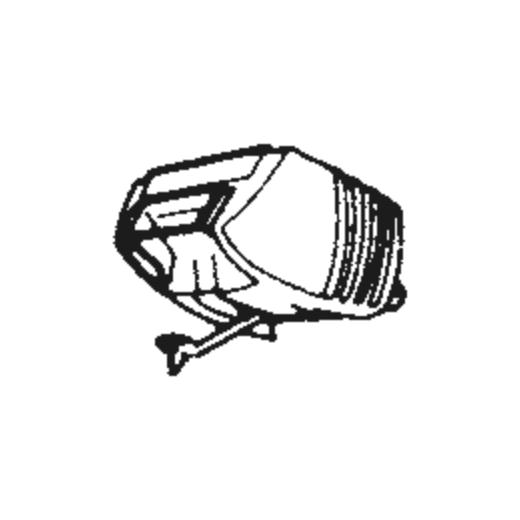 Nivico 4DT-2X Stylus : Brand:Tonar, Info:Aftermarket Stylus  SHIBATA TIP, Stylus:Shibata