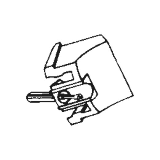 N.E.C. LP-6300 Stylus : Brand:Tonar, Info:Aftermarket Stylus, Stylus:Line-Contact