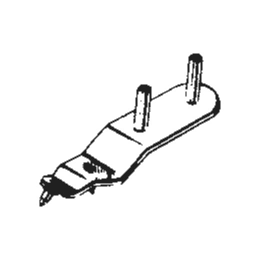 Perpetuum Ebner PE 8 Stylus : Brand:Tonar, Info:Aftermarket Stylus, Stylus:Dual Sapphire 78RPM mono / Stereo
