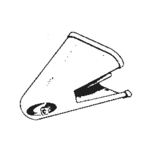 N.E.C. LP-65 D Stylus : Brand:Tonar, Info:Aftermarket Stylus, Stylus:Spherical