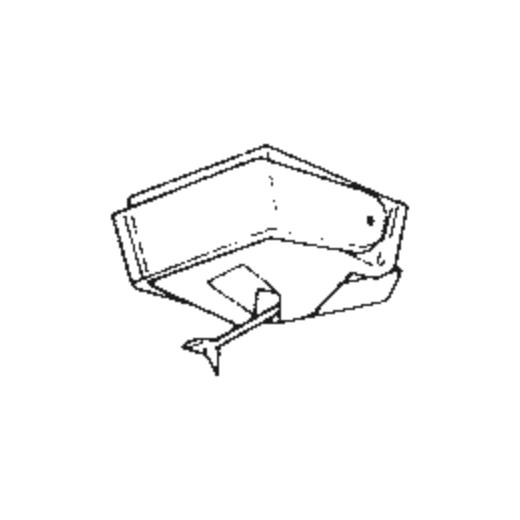 Supraphon JT-411 Stylus : Brand:Tonar, Info:Aftermarket Stylus, Stylus:Spherical
