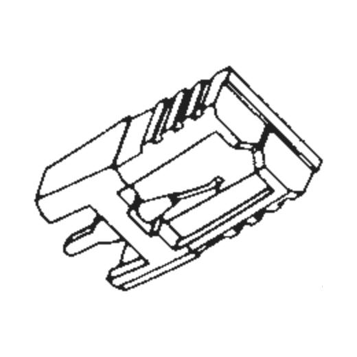 Hitachi SJN-18 Stylus : Brand:Tonar, Info:Aftermarket Stylus, Stylus:Spherical