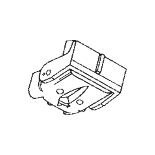 Toshiba C-58 M Stylus : Brand:Tonar, Info:Aftermarket Stylus, Stylus:Spherical
