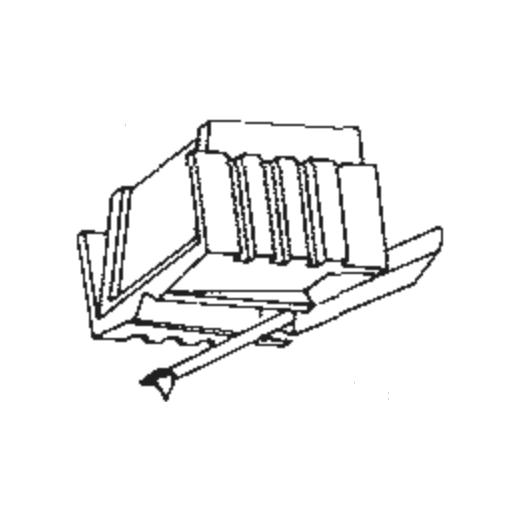 I.T.T. ME-45-77 Stylus : Brand:Tonar, Info:Aftermarket Stylus, Stylus:Elliptical