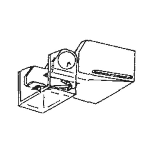 Hitachi DS-ST-17 Stylus : Brand:Tonar, Info:Aftermarket Stylus  (ATN-130E for AT-130E), Stylus:Elliptical