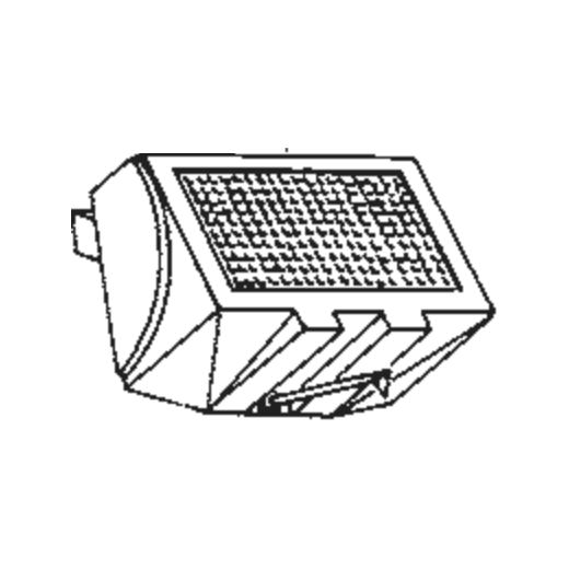 Piezo YM-124 Stylus : Brand:Tonar, Info:Aftermarket Stylus, Stylus:Spherical