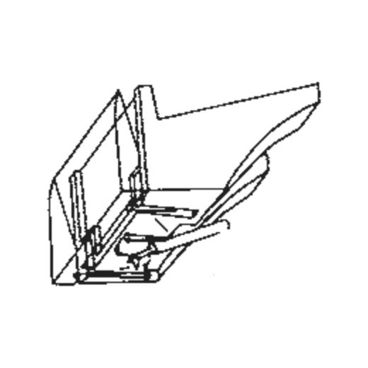 National/Technics EPS-206 Stylus for EPC-206 : Brand:Tonar, Info:Aftermarket Stylus, Stylus:Spherical