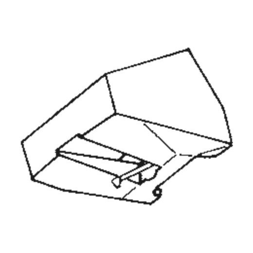 Akai RS-3 J Stylus : Brand:Tonar, Info:Aftermarket Stylus, Stylus:Spherical