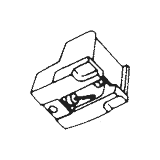 Telefunken ATN-72 Stylus : Brand:Tonar, Info:Aftermarket Stylus  (ATN-72 for AT-72), Stylus:Spherical