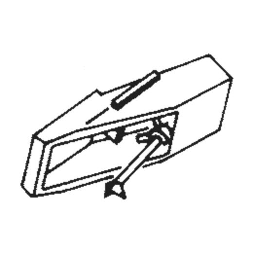 DT-37 Stylus for JVC / Nivico MD-1034 / MD-1044 : Brand:Tonar, Info:Aftermarket Stylus, Stylus:Spherical