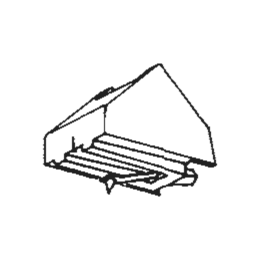 Jelco D Stylus : Brand:Tonar, Info:Aftermarket Stylus, Stylus:Elliptical