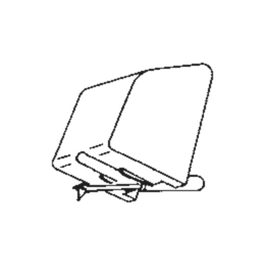 C.E.C. MC-17 Stylus : Brand:Tonar, Info:Aftermarket Stylus, Stylus:Spherical