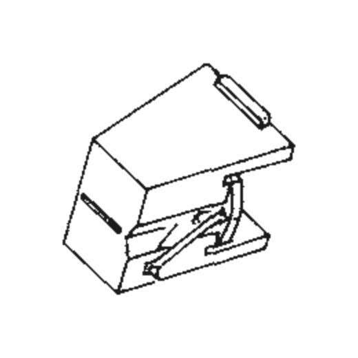 DT-41 Stylus for JVC / Nivico LE-500 / LE-600 : Brand:Tonar, Info:Aftermarket Stylus  (DT-41E), Stylus:Elliptical