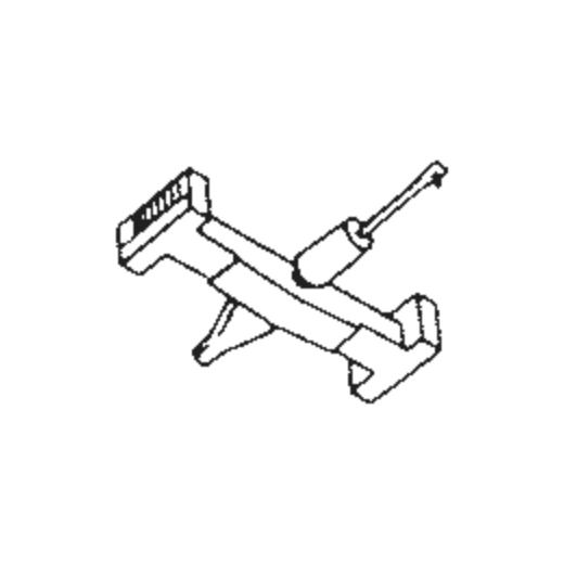 Silver S-8300 : Brand:Tonar, Info:Aftermarket Stylus, Stylus:Spherical