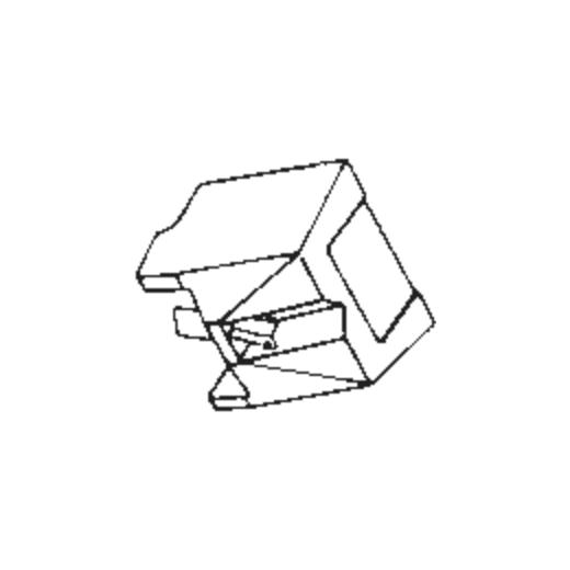 Nagaoka C-721 Stylus : Brand:Tonar, Info:Aftermarket Stylus, Stylus:Spherical