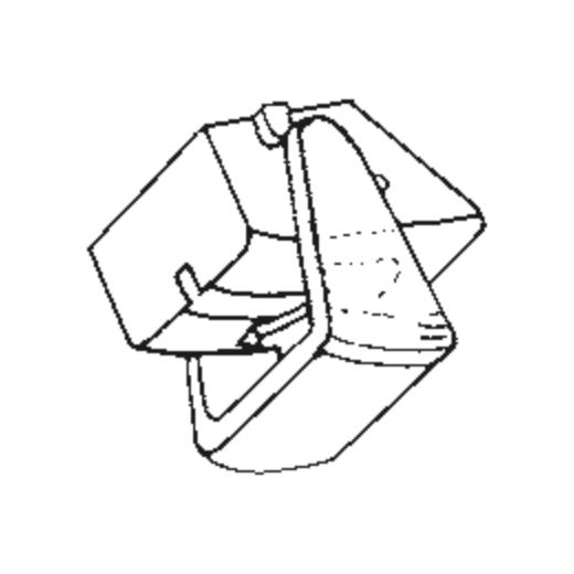 Sanyo ST-15 J Stylus : Brand:Tonar, Info:Aftermarket Stylus, Stylus:Spherical