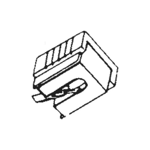 Sharp STY-122 Stylus : Brand:Tonar, Info:Aftermarket Stylus, Stylus:Spherical