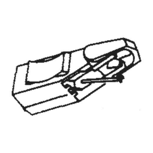 Philips GP-330 Stylus : Brand:Tonar, Info:Aftermarket Stylus, Stylus:Elliptical